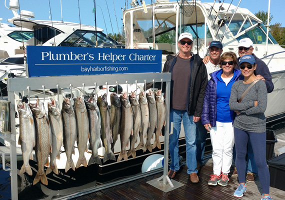 Plumbers Helper Fishing Charter Michigan