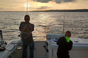 Charter Fishing Trips Lake Michigan