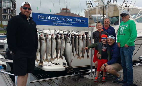 Lake Michigan Fishing Charter Petoskey