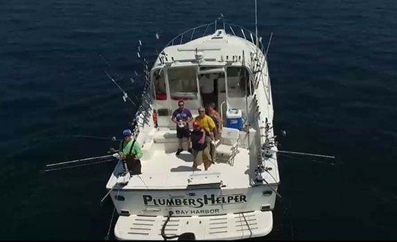 Tiara Open Sport Fishing Yacht Petoskey