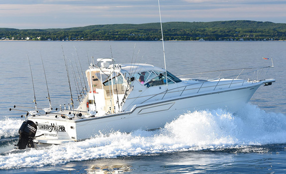Tiara Open Sport Fishing Yacht Michigan