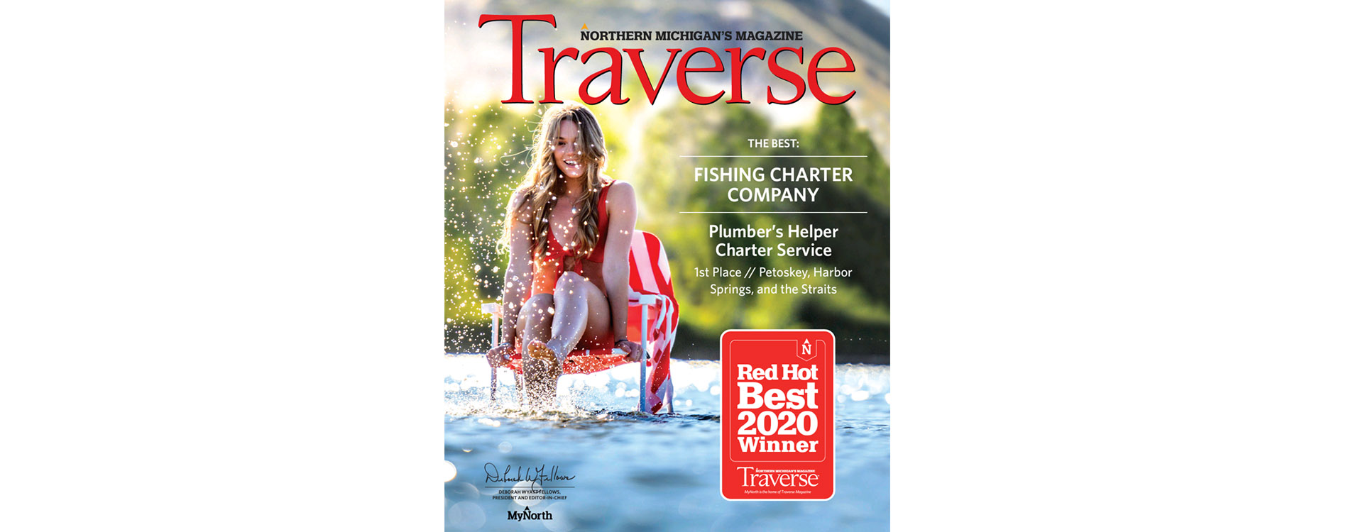 Traverse Magazine Red Hot Best First Place Northern Michigan